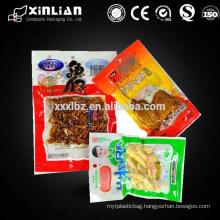 design printing/size plastic vacuum bag/plastic