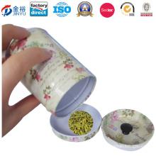 Airtight Lid Metal Tea Box for Tea Packaging