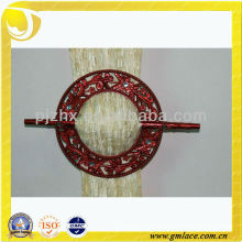 roundness resin curtain buckle plastic