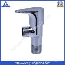 Латунный угловой клапан с ручкой из цинка (YD-5027)