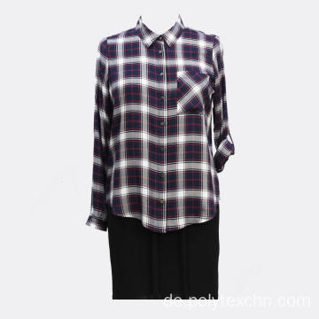 Damen YD Checks Round Hem Shirt