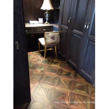 Brightly Silk Surface Natural Indonesia Rosewood Wood Parquet Flooring