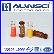 Flacon hplc 1.5 ml amber snap pour Waters