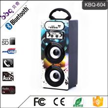 Musik Kreative LED-Licht Bluetooth tragbare Karaoke-Lautsprecher-Box