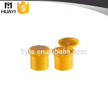 24/415 forme de champignon renversent les capsules supérieures de bouteille de shampooing en plastique pour la bouteille de shampooing de bébé