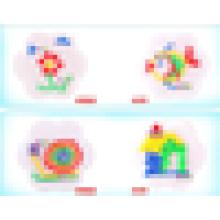 JQ цветок мозаики & головоломки борту игрушки JQ1054