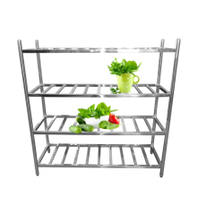 Stainless steel storage rack for kitchen