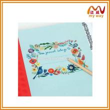 Promoção de presentes planejador caderno de diário bonito pássaro padrão caderno impresso