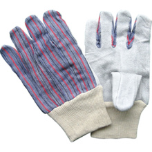 Rindspaltleder Knit Handgelenk Arbeitshandschuh