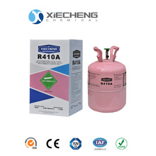 r410a refrigerant gas 99.9% Purity  25lb cylinders