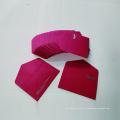 Enveloppe de papier de carte-cadeau de logo de commande personnalisée