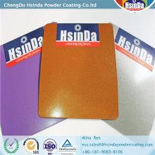 Metallische Effekt-Epoxid-Polyester-Pulverbeschichtung