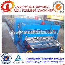 Cascade 21 Color Metall Glasierte Dachziegel Roll Formmaschine