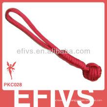 Punho do macaco do vermelho 550 do paracord de 2013 chaveiro