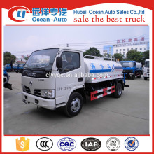 DFAC 4x2 water bowser truck with 5000L capacity from original factory for sale