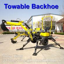 Pelle rétro tractable/Pelle rétro tractable pour tracteur