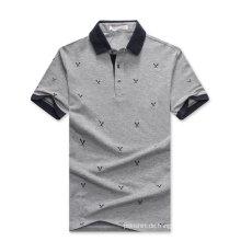 Microfaser Pima Baumwolle Polo Shirt Design China Factory