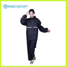 Waterproof Women′s Polyester Rainsuit Rvc-105