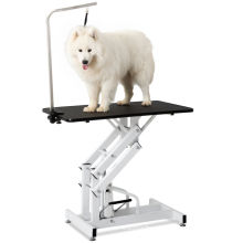 Cheap Price Veterinary Equipments Portable Animal Hospital Pet Clinic Dog Hydraulic Grooming Table for Sale Plastic Stocked