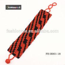 gratuite expédition bracelets de perles graines réglable 3cm largeur