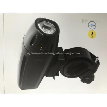 Linterna LED de motocicleta redonda