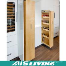 Meubles de Cabinet de cuisine de finition de finition brillante européenne de Cabinet de mélamine (AIS-K986)