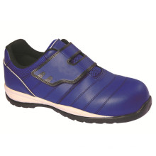 Ufa114 (1) Blue No Lace Metalfree Safety Shoes