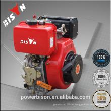 Bison China Zhejiang Power Fertigung Diesel Motor 10HP Honda GX390 Motor Single Zylinder Diesel Motor 186FA