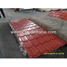 Color steel roof tile sheet / Color/Galvanized corrugated roofing sheet/Metal tile sheet