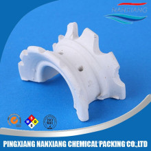 Ceramic super Intalox saddle ring for scrubber tower packing