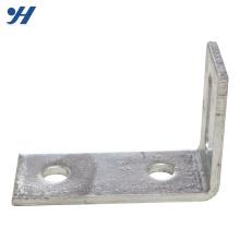 Suporte de ângulo de aço inoxidável com fenda de alta qualidade