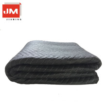 Decorative floor protection moving blanket nonwoven fabric polyester felt