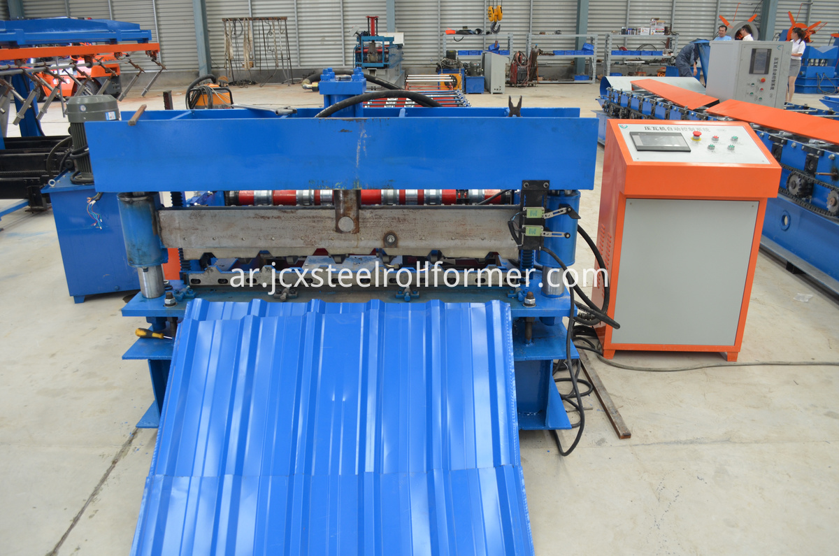 C10 roll making machine