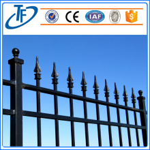 Spear top steel fencing /garrison fencing panel