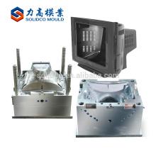 Fornecedor plástico do molde da tevê do aparelho electrodoméstico do molde do escudo da tevê da elevada precisão