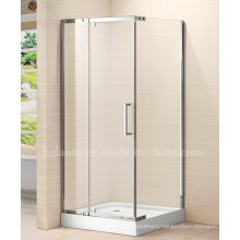 Shower Enclosure with Stainless Steel Fitting Components (LTS-028)