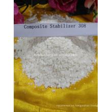composición del estabilizador químico del estabilizador del tubo del pvc para los tubos del PVC Estabilizador complejo del PVC Fabricación del plomo en China 308