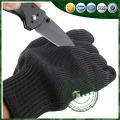 Luvas resistentes anti-corte de aramida, luvas de corte de segurança de aço inoxidável