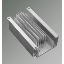 Base de radiateur de profil en aluminium