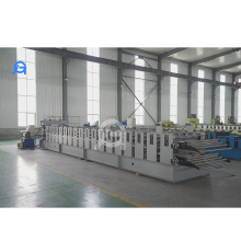 Double Layer Roof Tile Roll Forming Machine For Hydraulic Tile Pressing