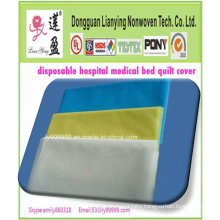 Hospital Daily Use Disposable Bed Sheet / Bed Cover CPE Bed Cover