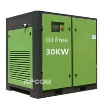 160 CFM 40 HP 30 KW oil free air compressors 160CFM 40HP 30KW oil free air compressors