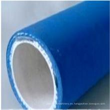 Tubo de alta temperatura reforzado con tela de la manguera de goma para el aceite comestible caliente