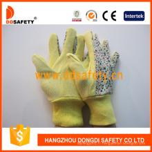 Gants de jardin fleur de coton design Dgs303