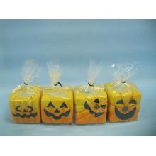 Artesanato de cerâmica de forma de vela de Halloween (LOE2372-B5z)