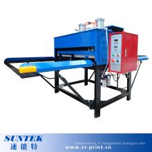 Machine pneumatique de transfert de sublimation de tissu de doubles côtés de grand format