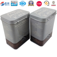 Hinged Wholesale Empty Coffee Cans for Coffee