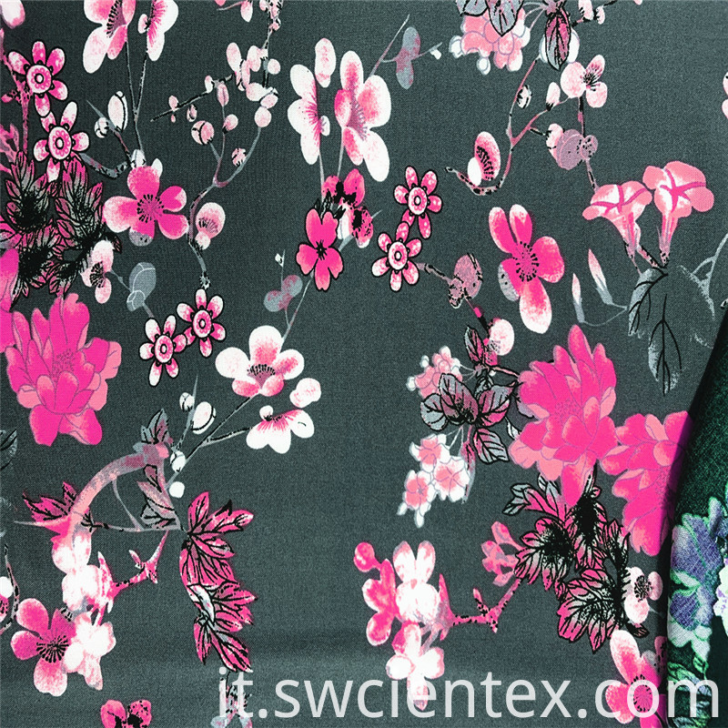 Rayon Print Women Dress Fabrics
