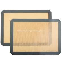 Tapete antiaderente de silicone para assar conjunto