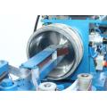 Metal fry pan surface sander polishing machine